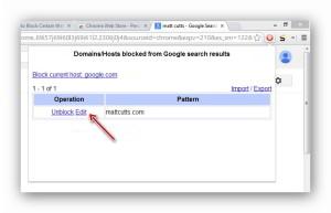 Use Personal Blocklist